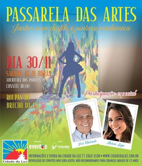 Jantar com Pintura Mediúnica -  Passarela das Artes