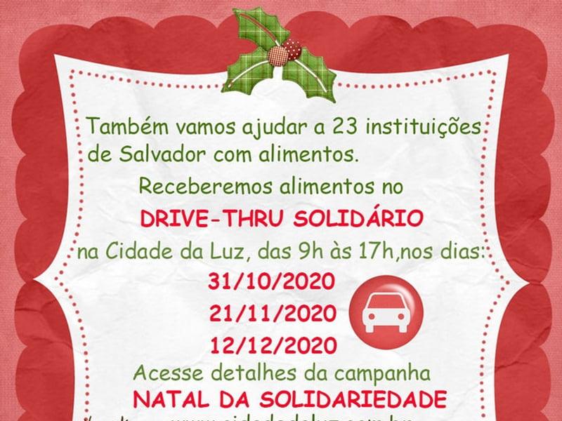 Drive-Thru Solidário