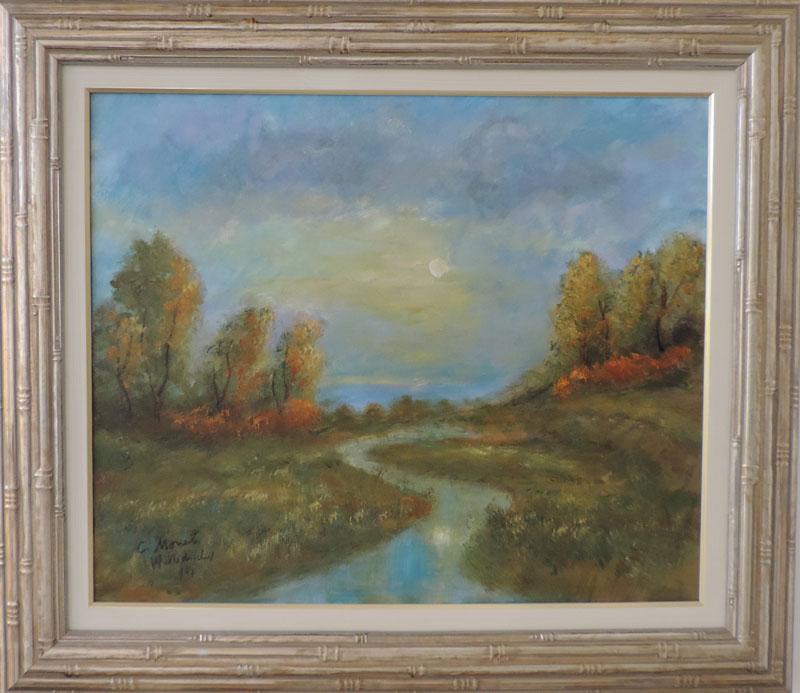 Claude Monet - Paissagem - CM033 -18