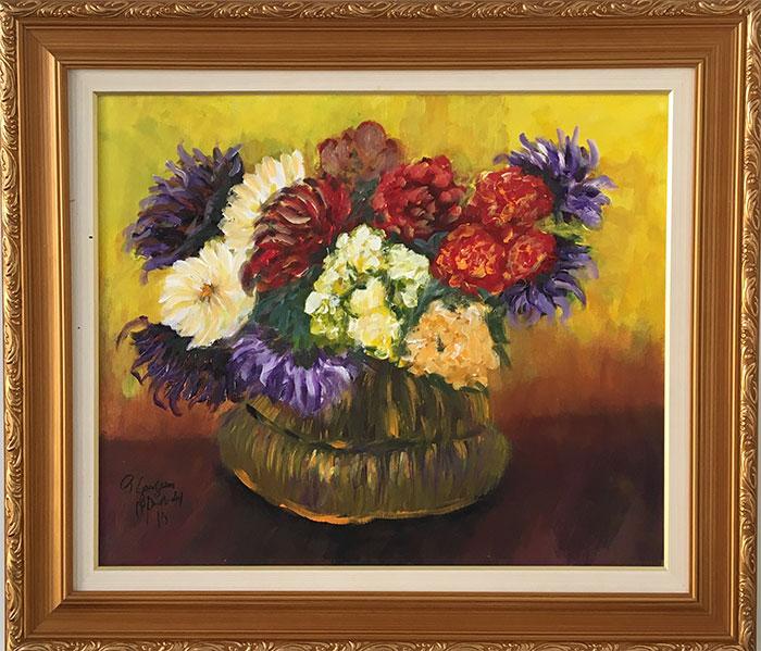 Paul Gauguin - Vaso de Flores – PG010-19