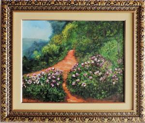 Claude Monet - Caminho das flores - CM025 -17
