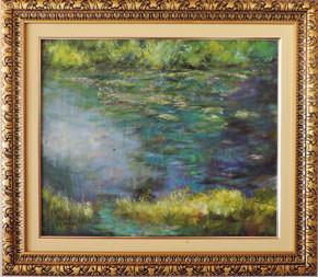 Claude Monet - Lago das flores - CM028-17