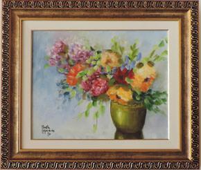 Berthe Morisot - Vaso de Flores - BM007-17