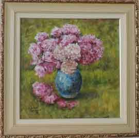 Édouard Monet -Vaso de Flores - CM032 -18