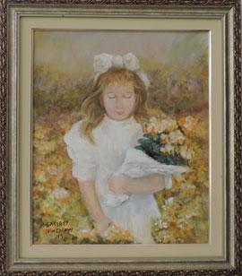 Mary Cassatt - Menina - MC002-19