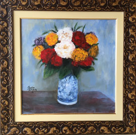 Fantin Latour - Vaso de Flores - FL003-19