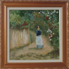 Berthe Morisot -  Passeio no campo – BM012-19