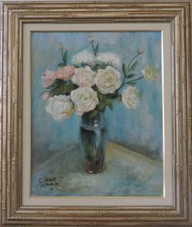 Claude Monet - Vaso com Flores - CM034 -19