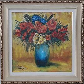 Vincent van Gogh - Vaso de Flores – VG001-19