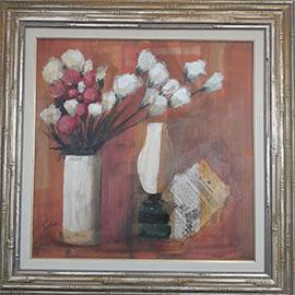 Carlos Scliar - Vaso de flores -  CS002-19