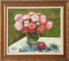 Édouard Manet - Vaso com flores - EM001-20