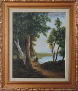 Camille Corot - Paisagem – CC001-20