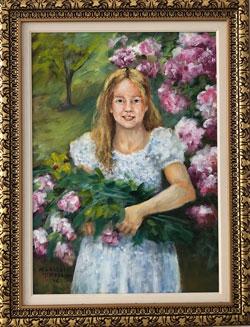 Mary Cassat - Menina - MC-001-21