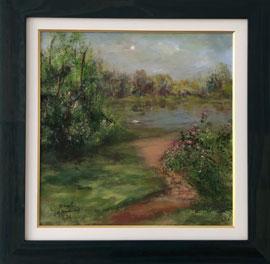 C. Monet - Paisagem e rio - CM001-21