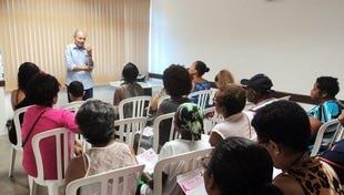 Ações de Saúde - Palestra de Orientação Sobre o Câncer de Mama