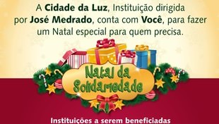 Participe do nosso Natal da Solidariedade