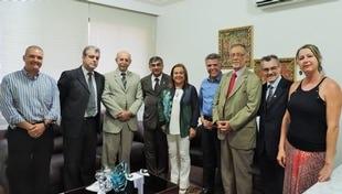 Comissão do Tribunal de Justiça da Bahia visita o Lar Luz do Amanhã