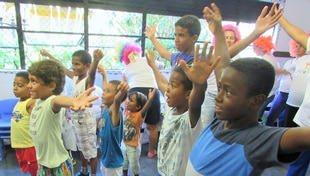 Encerramento oficial das festividades do Mês das Crianças no Lar