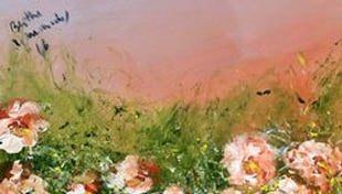 Pintura Mediúnica no 16º Encontro para Estudo da Ciência em Poços de Caldas - MG