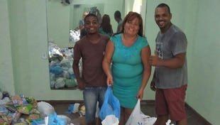Campanha Natal Solidário - nova entrega de alimentos