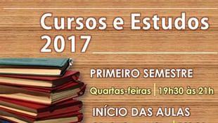 Matrículas abertas para os Cursos e Estudos 2017 da Cidade da Luz