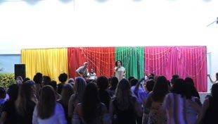Ícones do Axé Music se apresentaram em jantar-show beneficente na Cidade da Luz