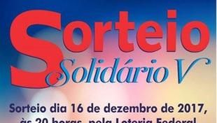 Resultado do Sorteio Solidário V (Certificado de Autorização da CEF 7-1056/2017