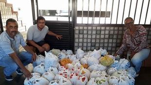 Natal da Solidariedade entrega alimentos arrecadados