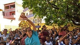 Escola Carlos Murion promove Oficina de Consciência Corporal para alunos
