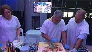 José Medrado faz palestra e pintura mediúnica em Centro Espírita de São Paulo