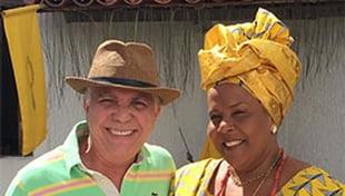 O 1º Festival de Oxun Bahia, que aconteceu neste domingo (27/10), conferiu menção honrosa a José Medrado