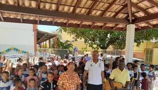 A Escola Carlos Murion realiza o Festival nossas raízes