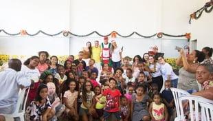 Cidade da Luz celebra mais um Natal de união com os assistidos pela Instituição