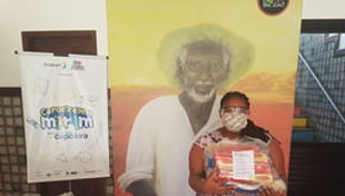 Doação de kits de higiene, cestas básicas e máscaras de proteção para famílias assistidas pela Instituição.