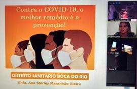 I Encontro com as famílias - COVID-19