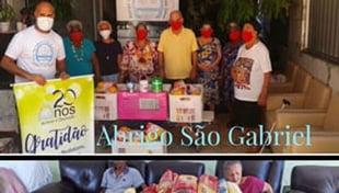A Cidade da Luz, na ação do Natal 2020, ampliou os atos de solidariedade para 28 instituições de Salvador e Lauro de Freitas