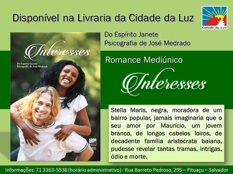 Interesses Romance Mediúnico - Espírito Janete por José Medrado