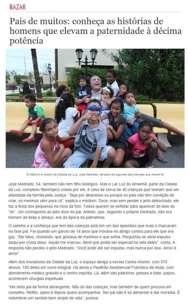 Jornal Correio da Bahia faz matéria com Medrado sobre o Dia dos Pais