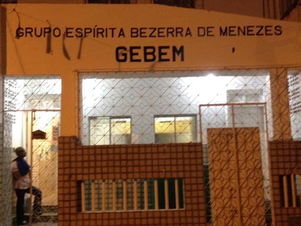 Palestra inaugural do GEBEM - Grupo Espírita Bezerra de Mezezes