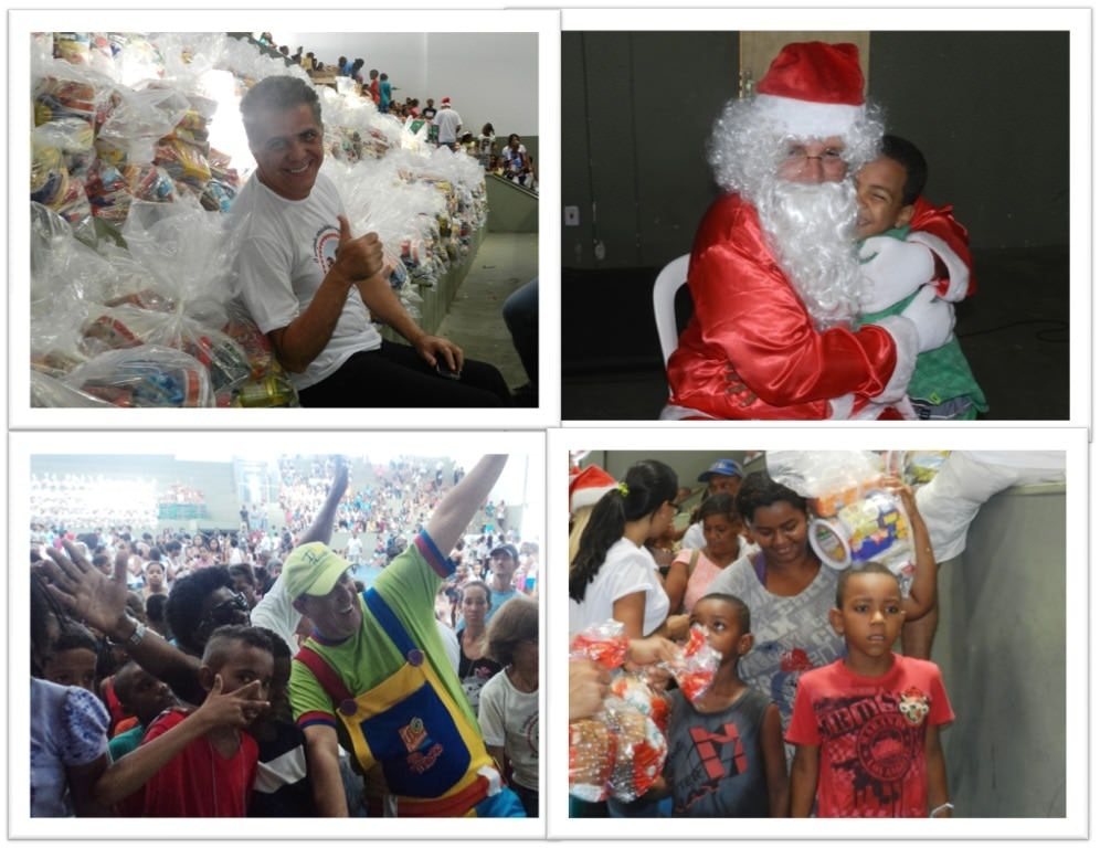 Cidade da Luz realiza grande festa de Natal para assistidos
