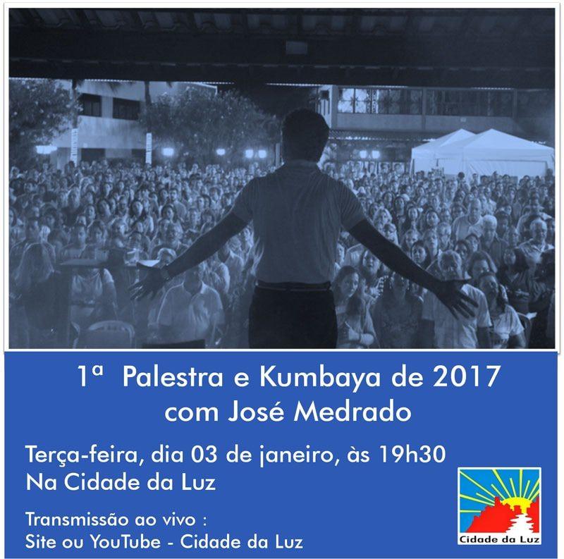 Primeira Palestra e Kumbaya de 2017