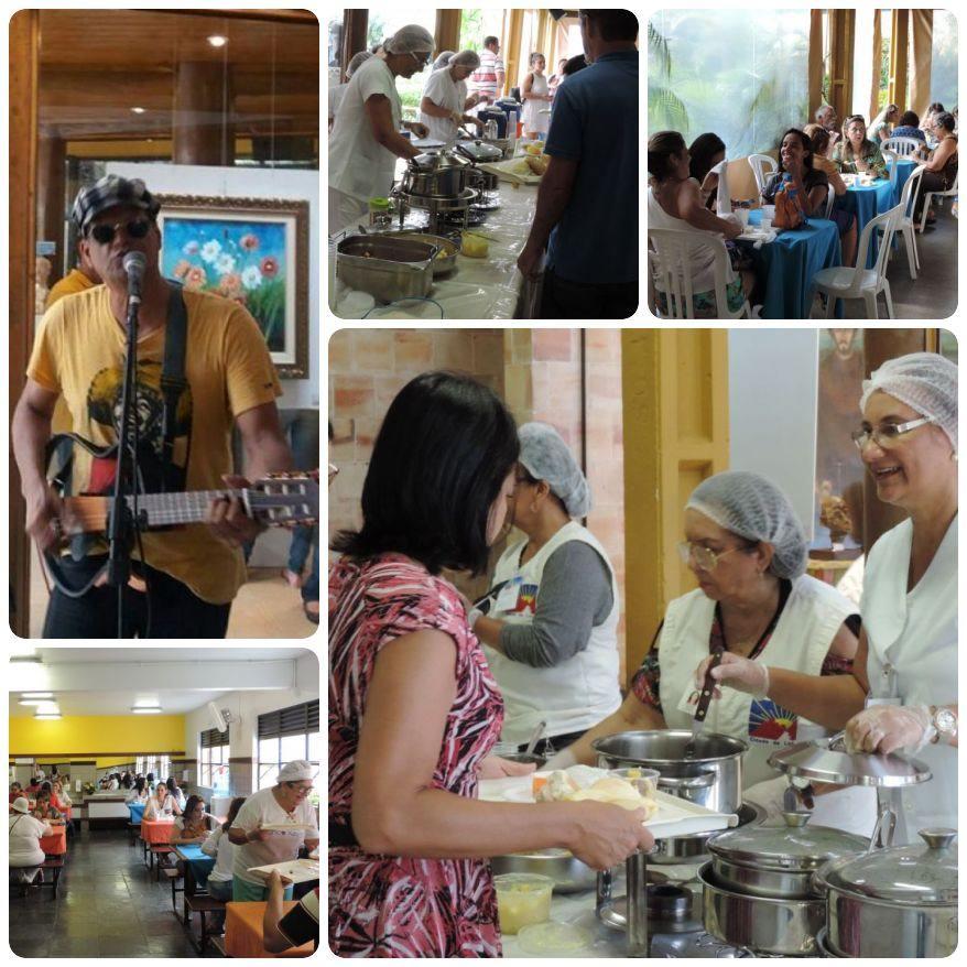 Café da manhã beneficente abre o mês de abril na Cidade da Luz