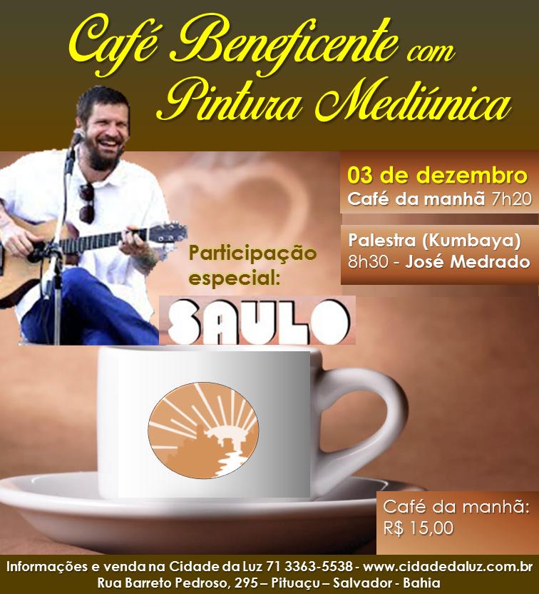 Café Beneficente com Pintura Mediúnica