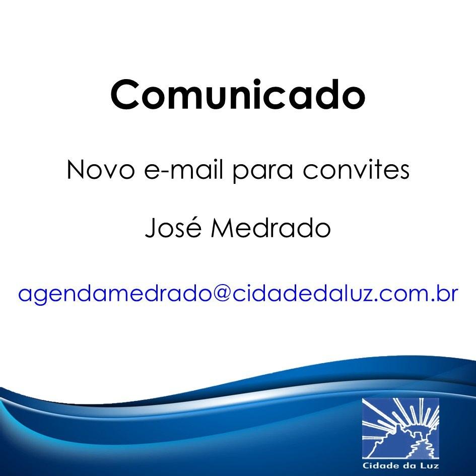Contato para convites José Medrado